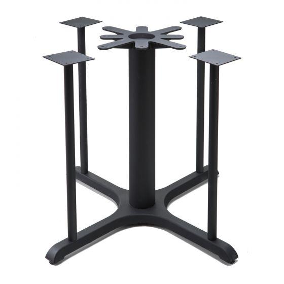 B36x5 Black Table Base