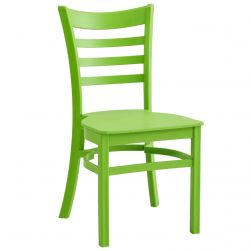 All-Weather Ladder Back Chair - Lime