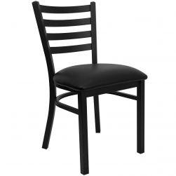 Ladder Back Metal Restaurant Chair