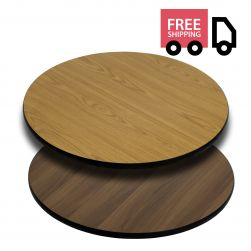 Reversible Laminate Top - Round