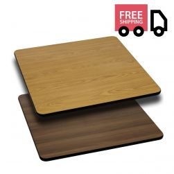 Reversible Laminate Top - Square