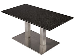 Choosing a Table Base for a Granite or Marble Table Top